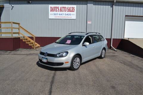 2011 Volkswagen Jetta for sale at Dave's Auto Sales in Winthrop MN