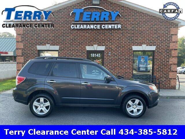 2010 Subaru Forester for sale at Terry Clearance Center in Lynchburg VA