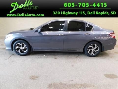 2016 Honda Accord for sale at Dells Auto in Dell Rapids SD