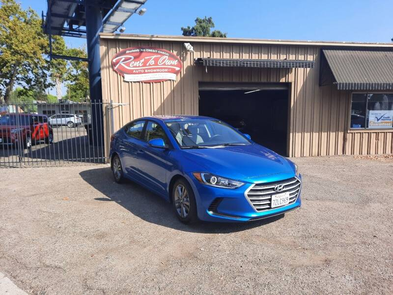 2018 Hyundai Elantra for sale at Rent To Own Auto Showroom LLC - Finance Inventory in Modesto CA