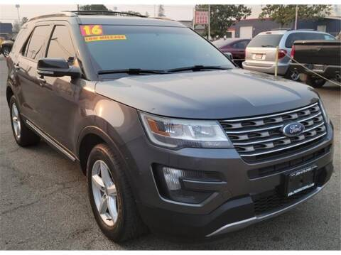 2016 Ford Explorer for sale at ATWATER AUTO WORLD in Atwater CA