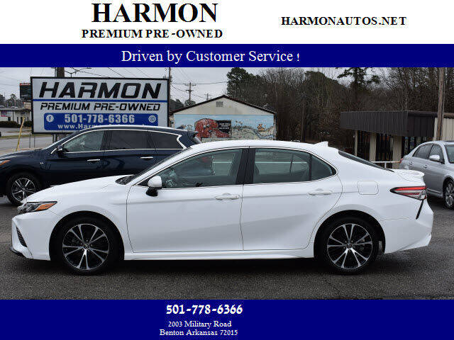 2019 Toyota Camry for sale at Harmon Premium Pre-Owned in Benton AR