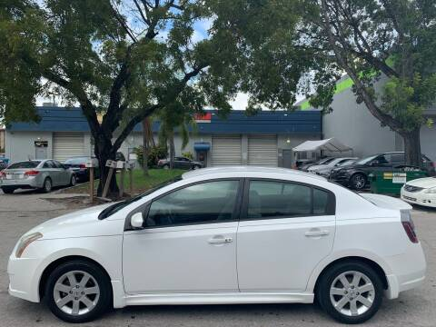 2011 Nissan Sentra for sale at Eden Cars Inc in Hollywood FL