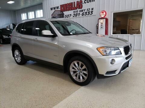 2013 BMW X3 for sale at Kinsellas Auto Sales in Rochester MN