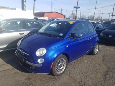 2012 FIAT 500 for sale at Cj king of car loans/JJ's Best Auto Sales in Troy MI
