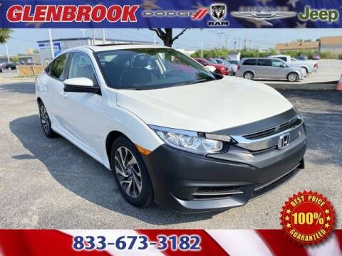 2017 Honda Civic for sale at Glenbrook Dodge Chrysler Jeep Ram and Fiat in Fort Wayne IN