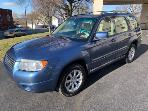 2007 Subaru Forester for sale at On The Circuit Cars & Trucks in York PA