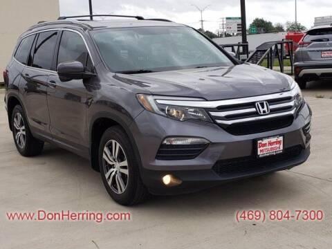 2017 Honda Pilot for sale at DON HERRING MITSUBISHI in Irving TX