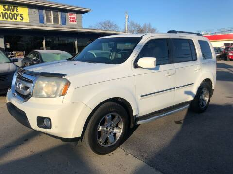 2010 Honda Pilot for sale at Wise Investments Auto Sales in Sellersburg IN