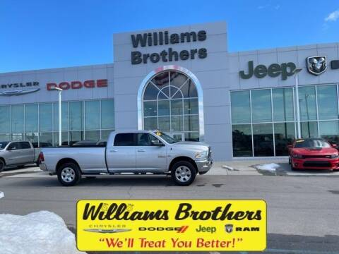 2017 RAM Ram Pickup 2500 for sale at Williams Brothers - Pre-Owned Monroe in Monroe MI