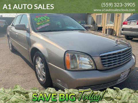 2003 Cadillac DeVille for sale at A1 AUTO SALES in Clovis CA