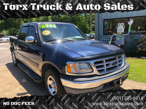 2002 Ford F-150 for sale at Torx Truck & Auto Sales in Eads TN