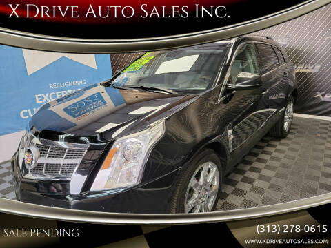2012 Cadillac SRX for sale at X Drive Auto Sales Inc. in Dearborn Heights MI