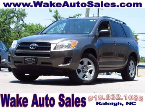 2012 Toyota RAV4 for sale at Wake Auto Sales Inc in Raleigh NC