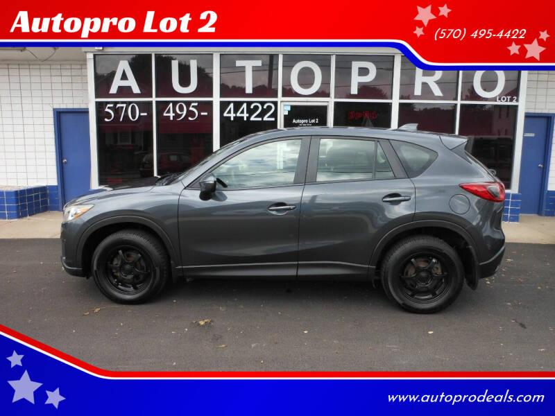 2015 Mazda CX-5 for sale at Autopro Lot 2 in Sunbury PA