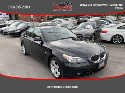 2006 BMW 5 Series for sale at Complete Auto Center , Inc in Raleigh NC