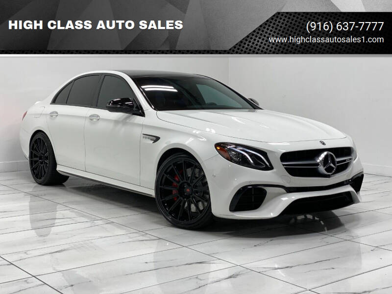 2018 Mercedes-Benz E-Class for sale at HIGH CLASS AUTO SALES in Rancho Cordova CA