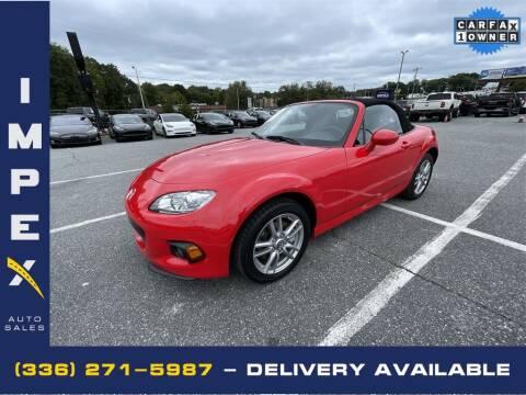 2015 Mazda MX-5 Miata for sale at Impex Auto Sales in Greensboro NC