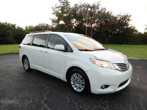 2015 Toyota Sienna for sale at SUPER DEAL MOTORS 441 in Hollywood FL