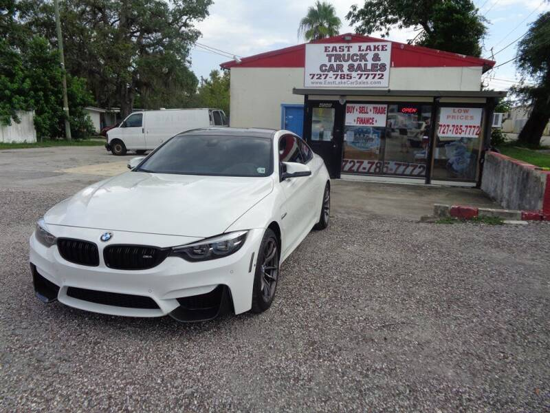 2018 BMW M4 for sale at EAST LAKE TRUCK & CAR SALES in Holiday FL