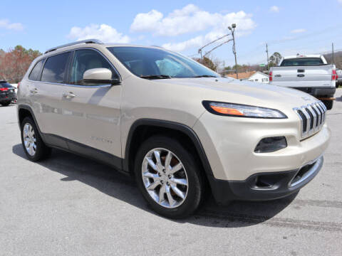 2015 Jeep Cherokee for sale at Viles Automotive in Knoxville TN