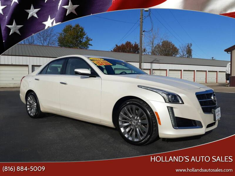 2014 Cadillac CTS for sale at Holland's Auto Sales in Harrisonville MO