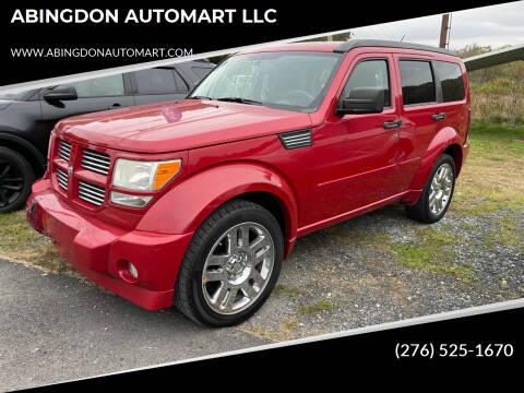 2011 Dodge Nitro for sale at ABINGDON AUTOMART LLC in Abingdon VA