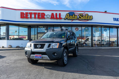 2012 Nissan Xterra for sale at Better All Auto Sales in Yakima WA