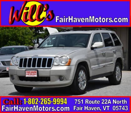 2010 Jeep Grand Cherokee for sale at Will's Fair Haven Motors in Fair Haven VT