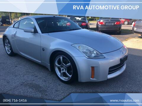 2007 Nissan 350Z for sale at RVA Automotive Group in North Chesterfield VA