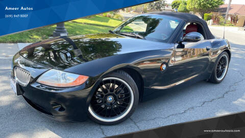 2004 BMW Z4 for sale at Ameer Autos in San Diego CA