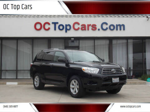 2010 Toyota Highlander for sale at OC Top Cars in Irvine CA