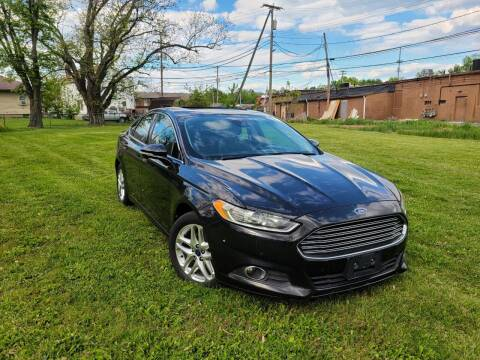 2013 Ford Fusion for sale at Cleveland Avenue Autoworks in Columbus OH