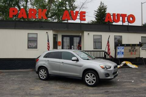 2013 Mitsubishi Outlander Sport for sale at Park Ave Auto Inc. in Worcester MA