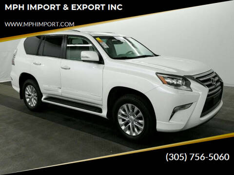 2017 Lexus GX 460 for sale at MPH IMPORT & EXPORT INC in Miami FL