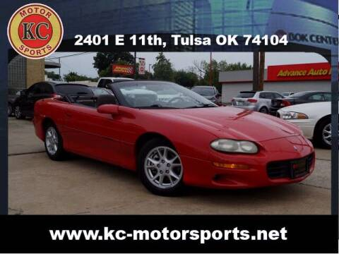 2001 Chevrolet Camaro for sale at KC MOTORSPORTS in Tulsa OK