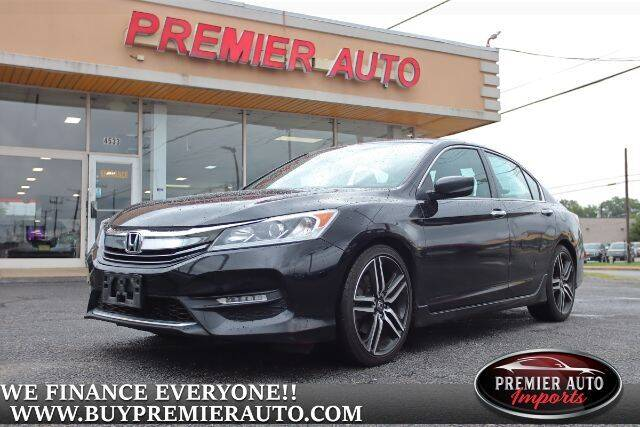 2016 Honda Accord for sale at PREMIER AUTO IMPORTS - Temple Hills Location in Temple Hills MD
