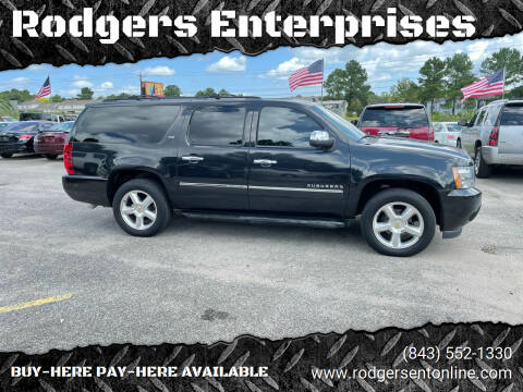 2010 Chevrolet Suburban for sale at Rodgers Enterprises in North Charleston SC