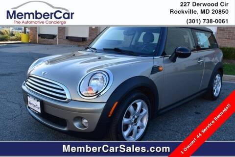 2009 MINI Cooper Clubman for sale at MemberCar in Rockville MD