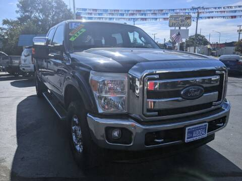 2015 Ford F-250 Super Duty for sale at GREAT DEALS ON WHEELS in Michigan City IN