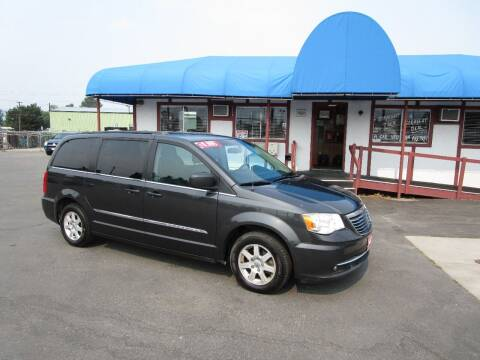 2012 Chrysler Town and Country for sale at Jim's Cars by Priced-Rite Auto Sales in Missoula MT