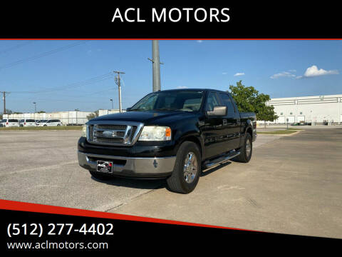 2008 Ford F-150 for sale at ACL MOTORS in Austin TX