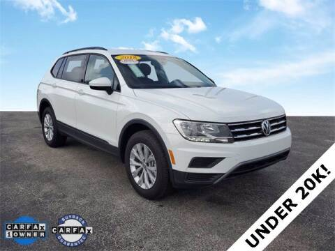 2018 Volkswagen Tiguan for sale at PHIL SMITH AUTOMOTIVE GROUP - Okeechobee Chrysler Dodge Jeep Ram in Okeechobee FL
