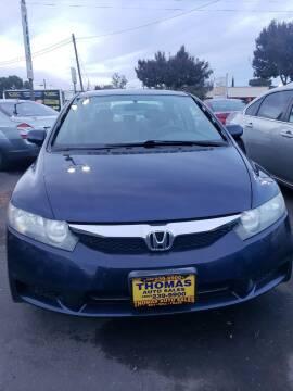 2011 Honda Civic for sale at Thomas Auto Sales in Manteca CA