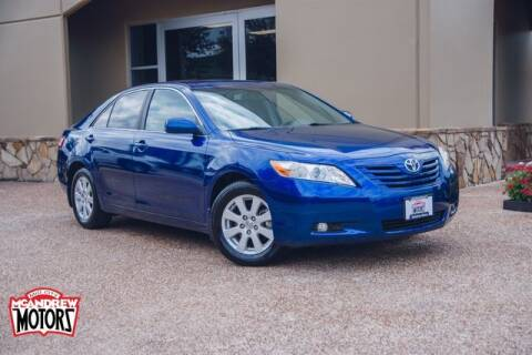 2009 Toyota Camry for sale at Mcandrew Motors in Arlington TX