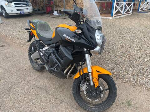 2012 Kawasaki Versys 650  for sale at 4X4 Auto in Cortez CO