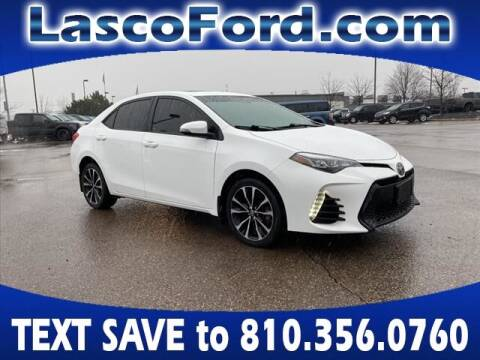 2017 Toyota Corolla for sale at Lasco of Grand Blanc in Grand Blanc MI