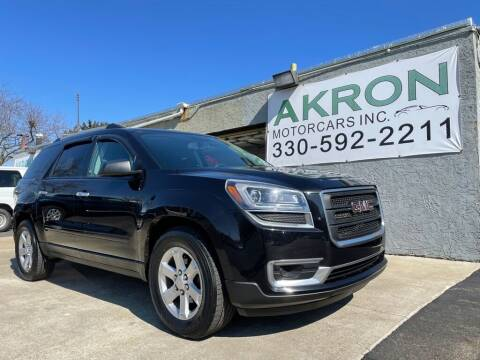 2015 GMC Acadia for sale at Akron Motorcars Inc. in Akron OH
