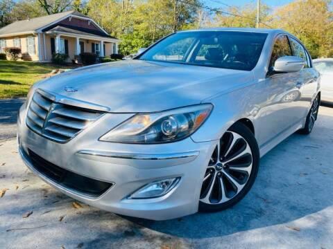 2012 Hyundai Genesis for sale at E-Z Auto Finance in Marietta GA