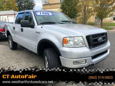 2005 Ford F-150 for sale at CT AutoFair in West Hartford CT